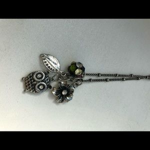 Cute owl charm necklace